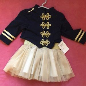 NWT Pippa & Julie majorette dress 18M